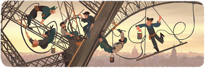 Bild Von Google Zum Eiffelturm