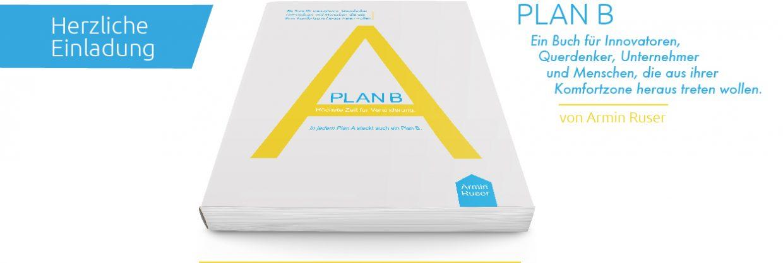 Book–Release: Plan B – Höchste Zeit Zur Veränderung