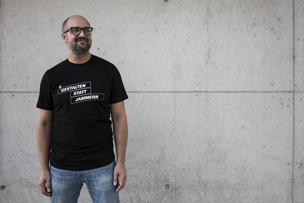 """T-Shirt: """"gestalten Statt Jammern"""""""